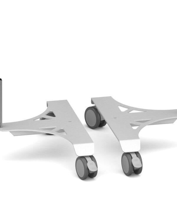 Replacement feet (pair) for aluminium floor screens - Furniture