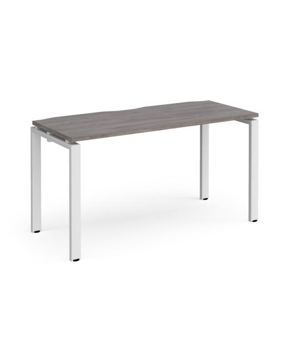 Adapt single desk 600mm deep