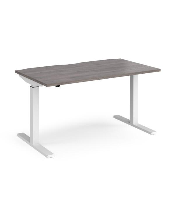 Elev8 Mono straight sit-stand desk 800mm deep