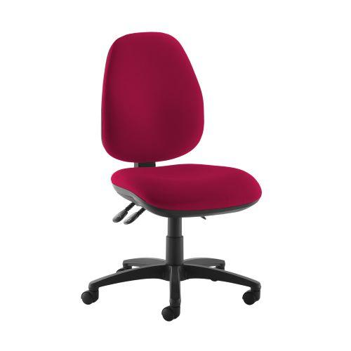 Jota high back operator chair with no arms - Diablo Pink - Furniture