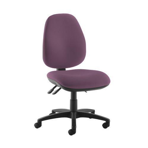 Jota high back operator chair with no arms - Bridgetown Purple - Furniture