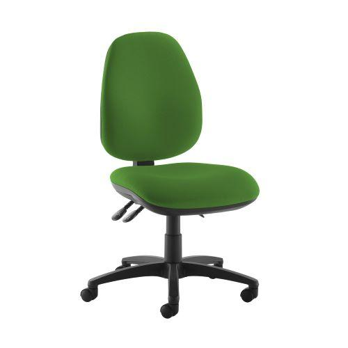 Jota high back operator chair with no arms - Lombok Green - Furniture