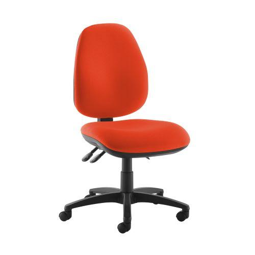 Jota high back operator chair with no arms - Tortuga Orange - Furniture