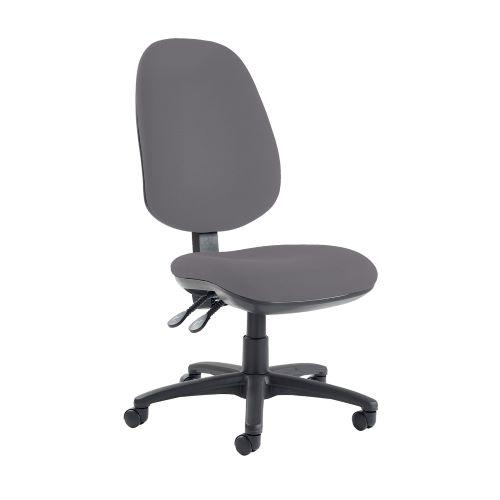 Jota extra high back operator chair with no arms - Blizzard Grey - Furniture