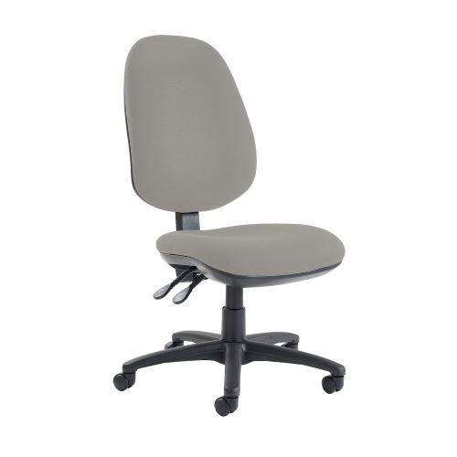 Jota extra high back operator chair with no arms - Slip Grey - Furniture