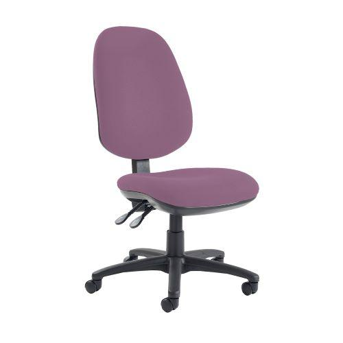 Jota extra high back operator chair with no arms - Bridgetown Purple - Furniture