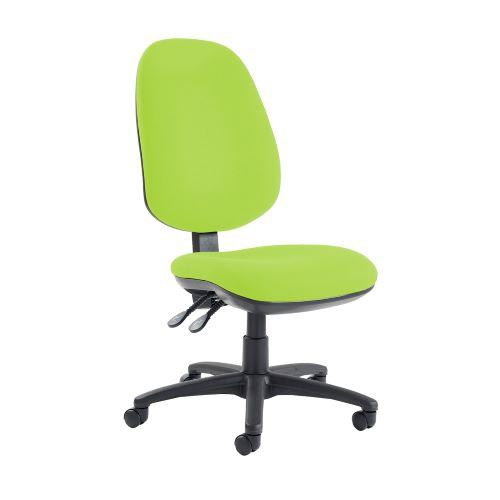 Jota extra high back operator chair with no arms - Madura Green - Furniture