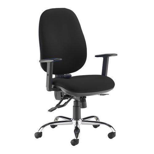 Jota ergo 24hr ergonomic asynchro task chair - black - Furniture