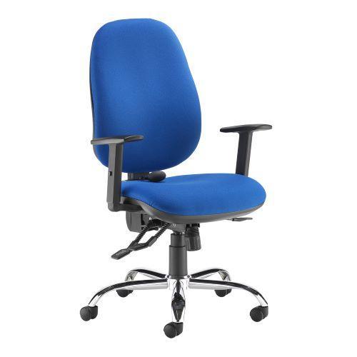 Jota ergo 24hr ergonomic asynchro task chair - blue - Furniture