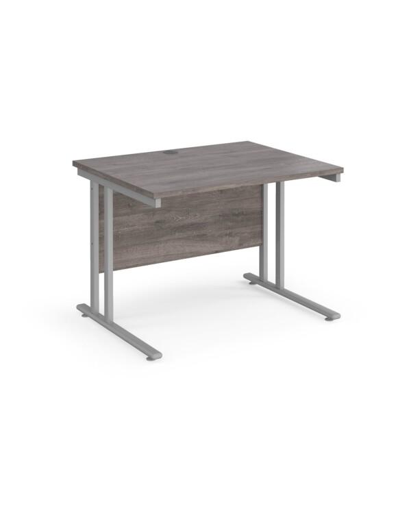 Maestro 25 cantilever 800mm deep desk
