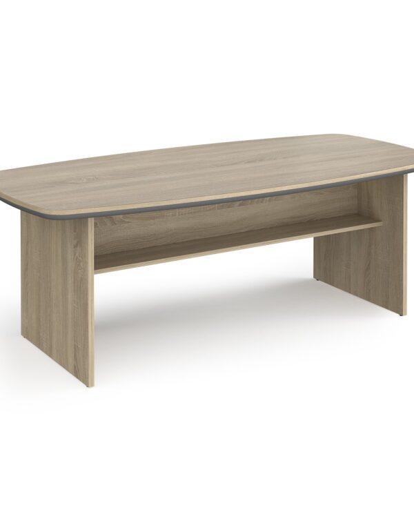 Magnum conference table 2100mm x 1000mm - light oak - Furniture