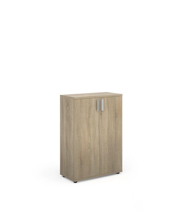 Magnum low cupboard 1130mm high - light oak - Furniture