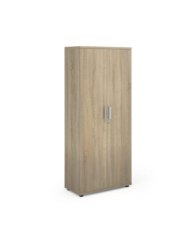 Magnum tall cupboard 1840mm high - light oak - Furniture