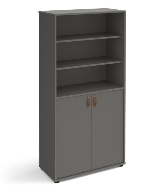 Universal high combination unit with open top