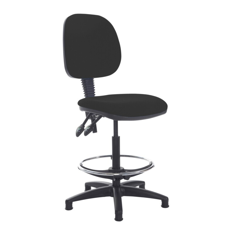 Jota draughtsmans chair with no arms - Havana Black - Furniture