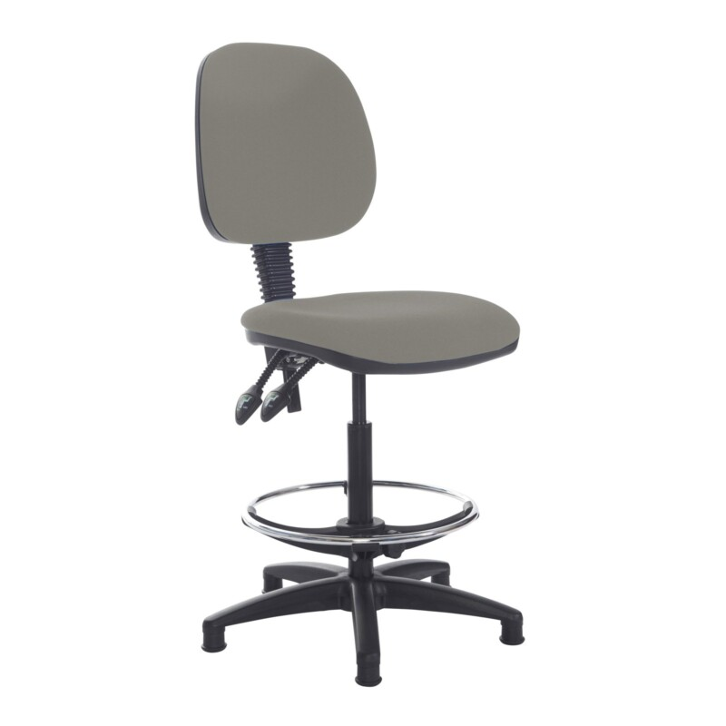 Jota draughtsmans chair with no arms - Slip Grey - Furniture