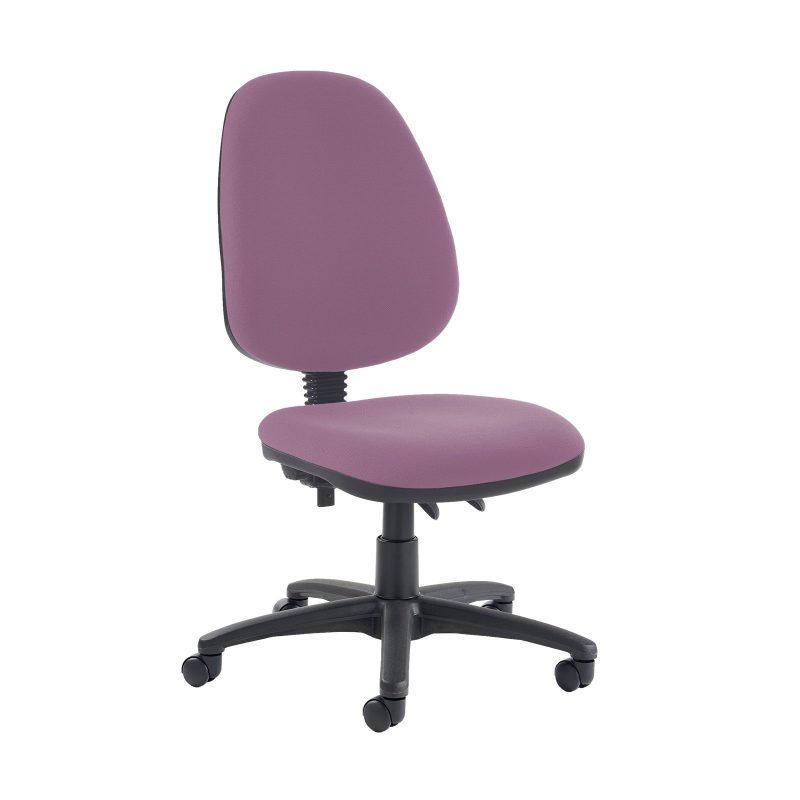 Jota high back PCB operator chair with no arms - Bridgetown Purple - Furniture