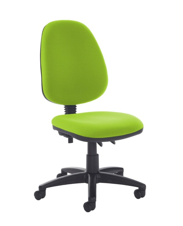 Jota high back PCB operator chair with no arms - Madura Green - Furniture