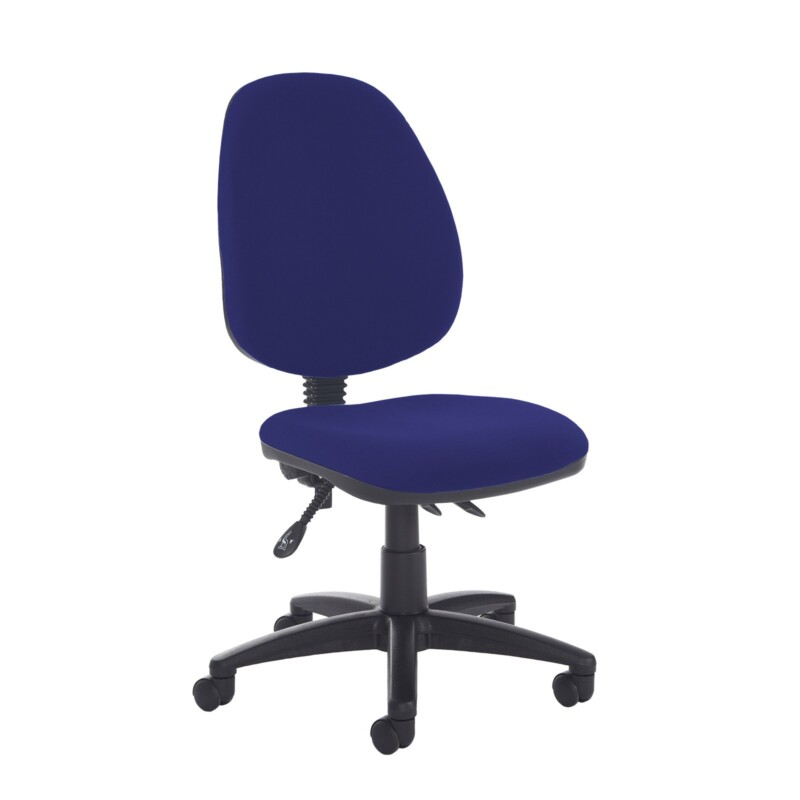 Jota high back asynchro operators chair with no arms - Ocean Blue - Furniture