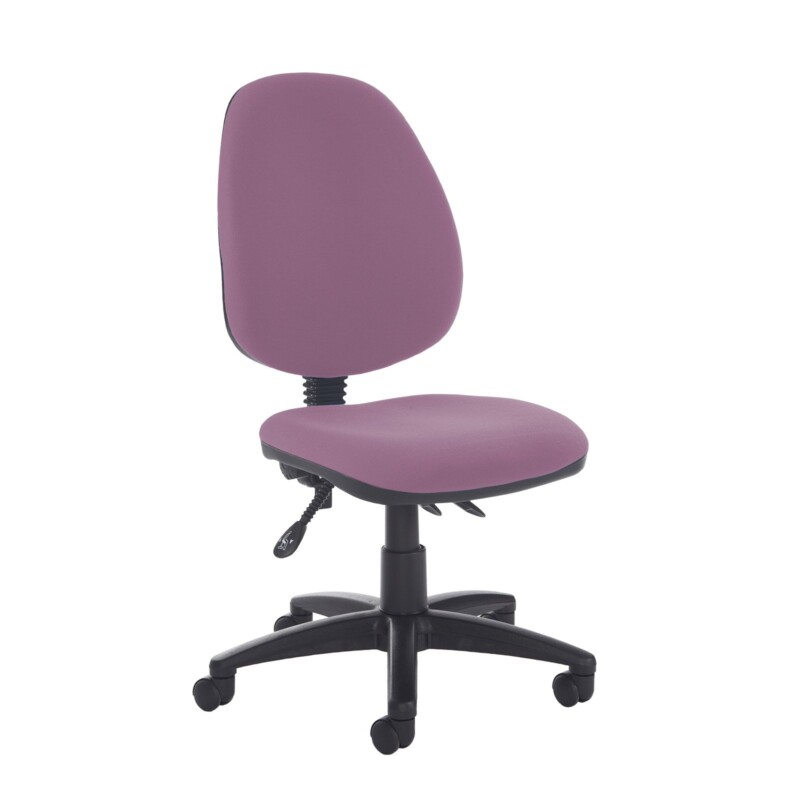 Jota high back asynchro operators chair with no arms - Bridgetown Purple - Furniture