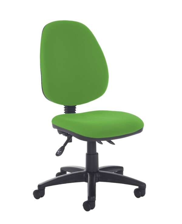 Jota high back asynchro operators chair with no arms - Lombok Green - Furniture