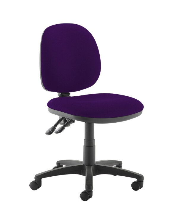 Jota medium back PCB operators chair with no arms - Tarot Purple - Furniture