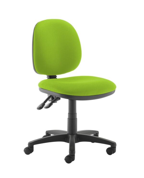 Jota medium back PCB operators chair with no arms - Madura Green - Furniture