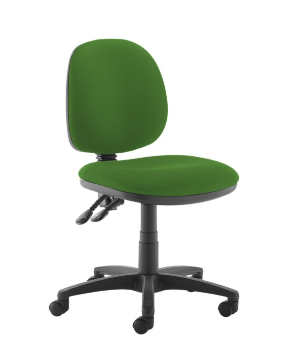 Jota medium back PCB operators chair with no arms - Lombok Green - Furniture