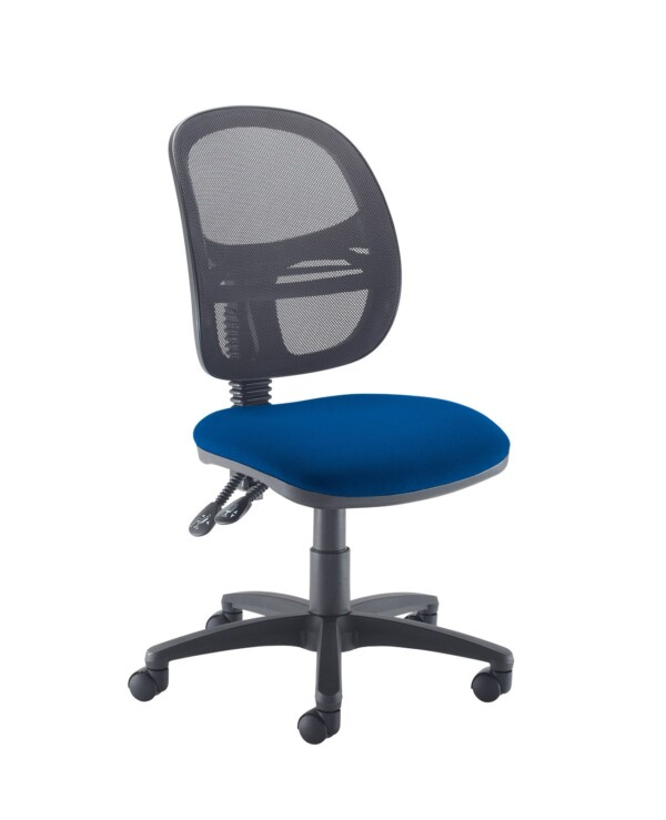 Jota Mesh medium back operators chair with no arms - Curacao Blue - Furniture