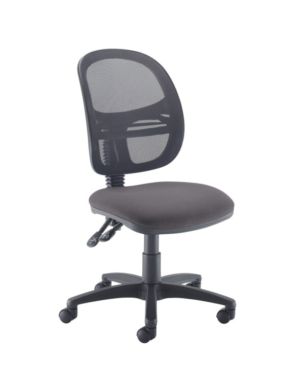 Jota Mesh medium back operators chair with no arms - Blizzard Grey - Furniture