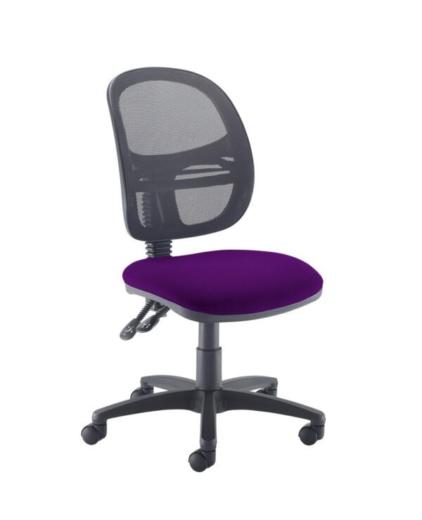 Jota Mesh medium back operators chair with no arms - Tarot Purple - Furniture