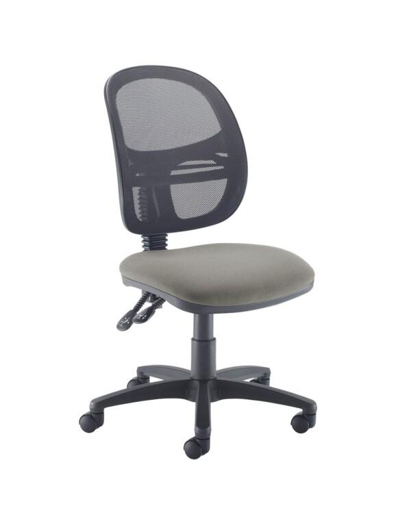 Jota Mesh medium back operators chair with no arms - Slip Grey - Furniture