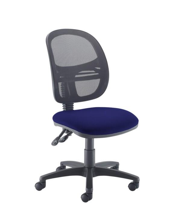 Jota Mesh medium back operators chair with no arms - Ocean Blue - Furniture