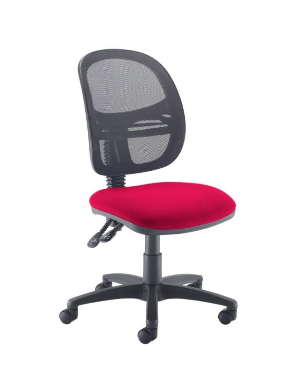 Jota Mesh medium back operators chair with no arms - Diablo Pink - Furniture