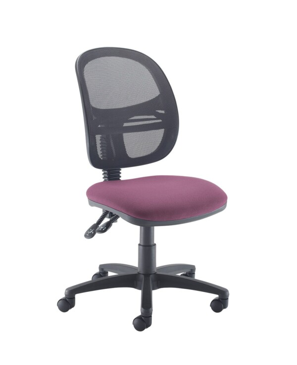Jota Mesh medium back operators chair with no arms - Bridgetown Purple - Furniture
