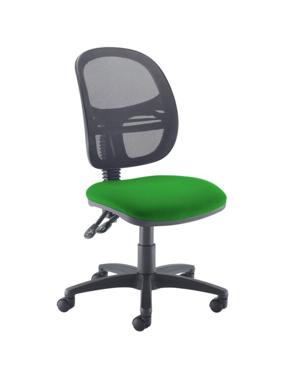 Jota Mesh medium back operators chair with no arms - Lombok Green - Furniture