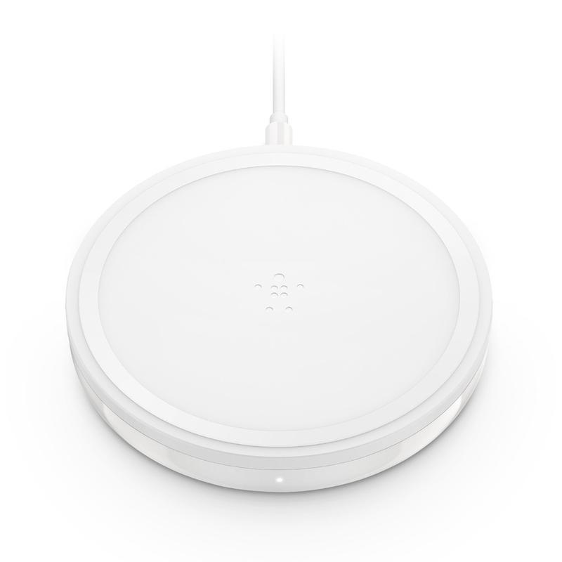 Belkin wireless charging pad 10W for Apple, Samsung, LG and Sony � White - Furniture