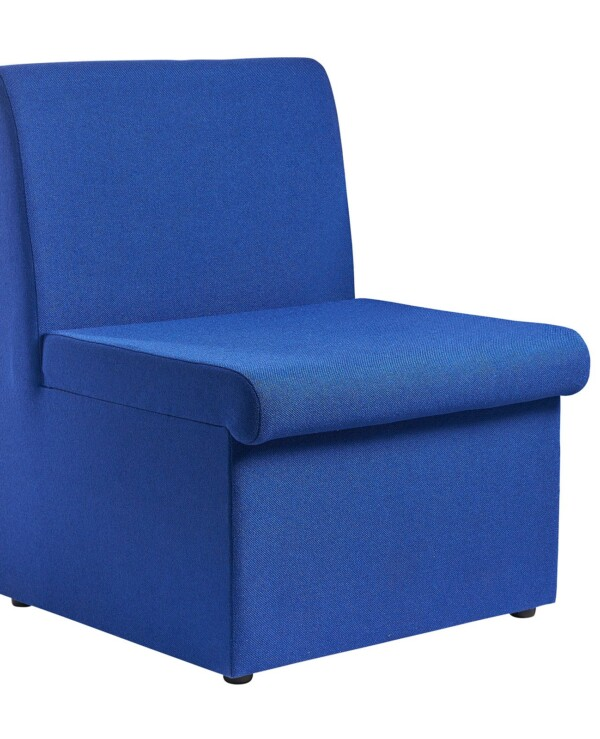 Alto modular reception seating with no arms - blue - Furniture