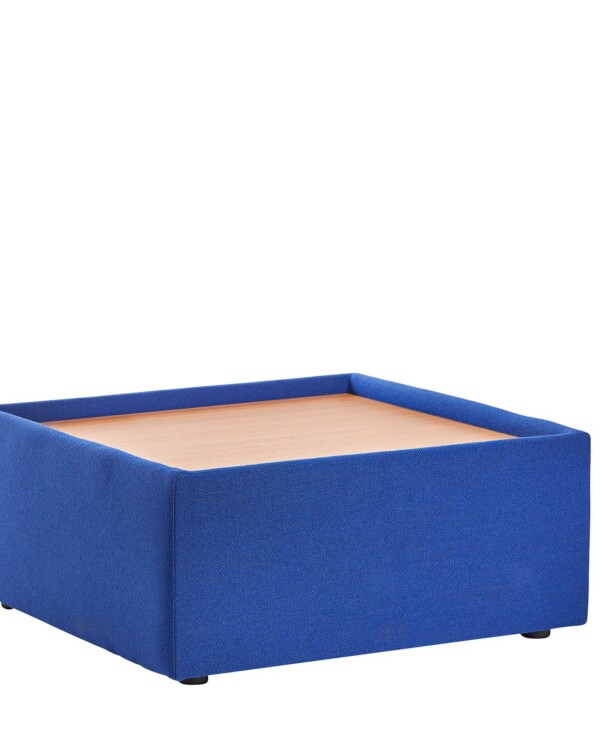 Alto modular reception seating wooden table - blue - Furniture