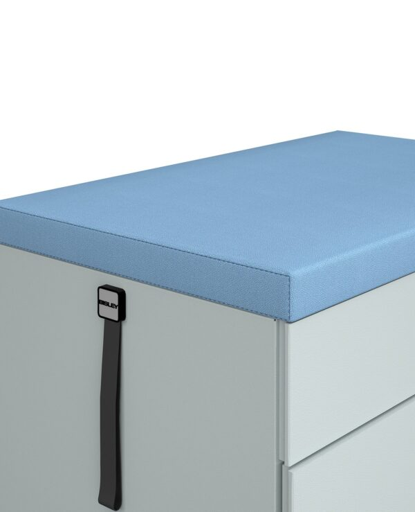 Steel caddy seat pad kit