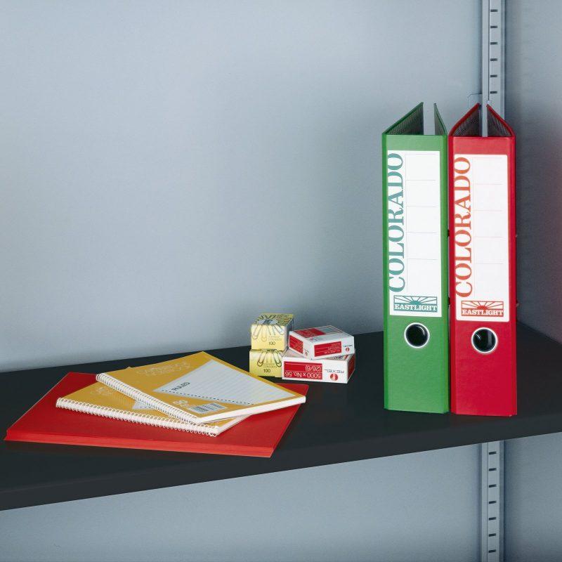 Extra shelf for steel storage cupboards - black - Furniture