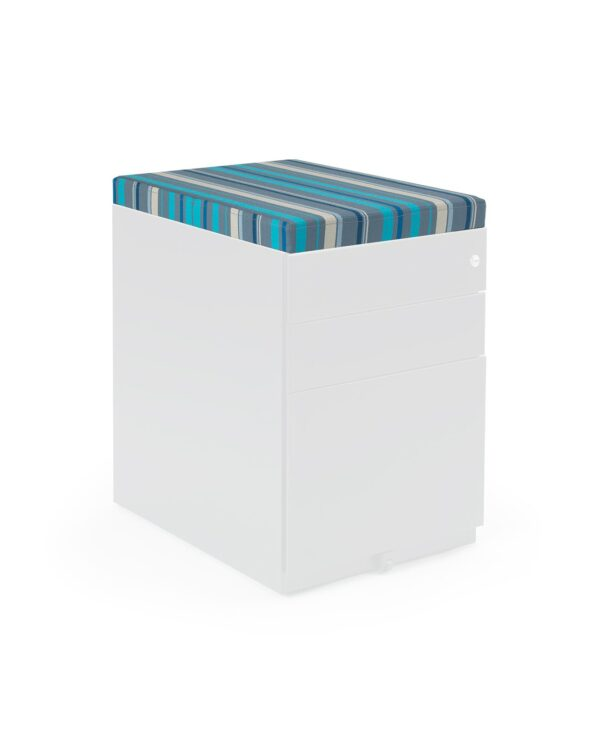 Steel pedestal seat pad kit