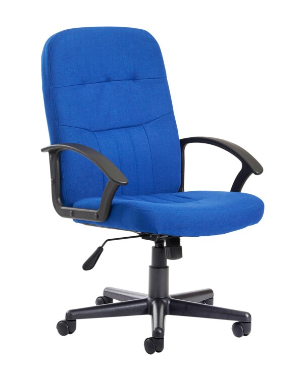 Cavalier fabric managers chair - blue - Furniture