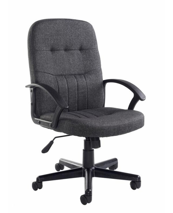 Cavalier fabric managers chair - charcoal - Furniture