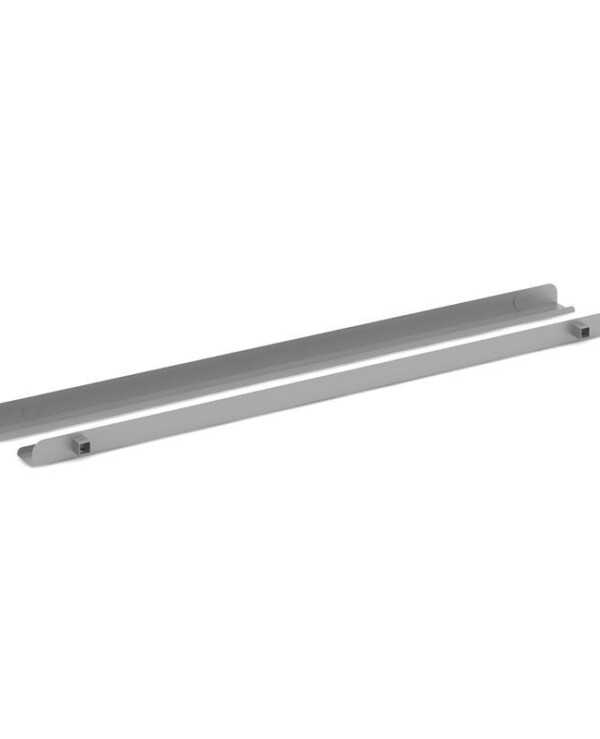 Connex single cable tray 1600mm - silver - Furniture