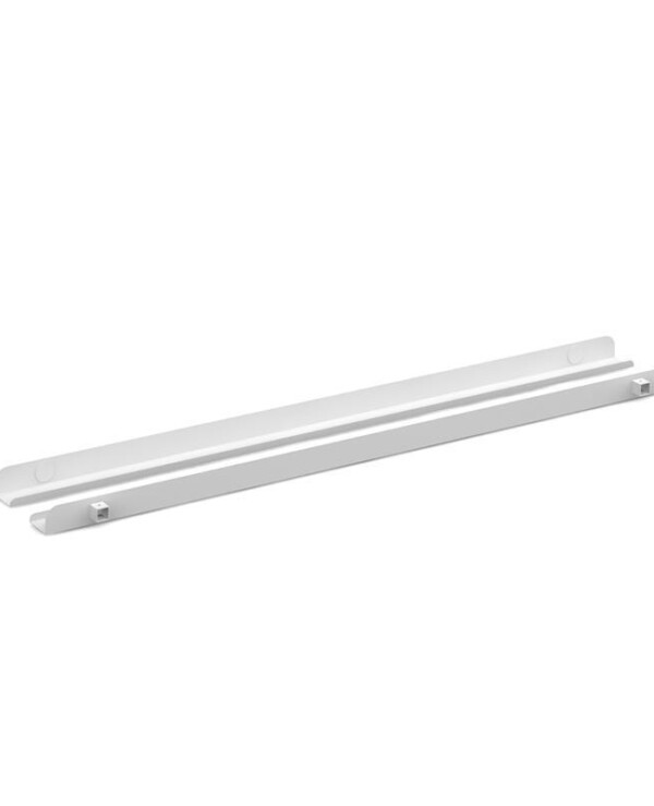 Connex single cable tray 1600mm - white - Furniture