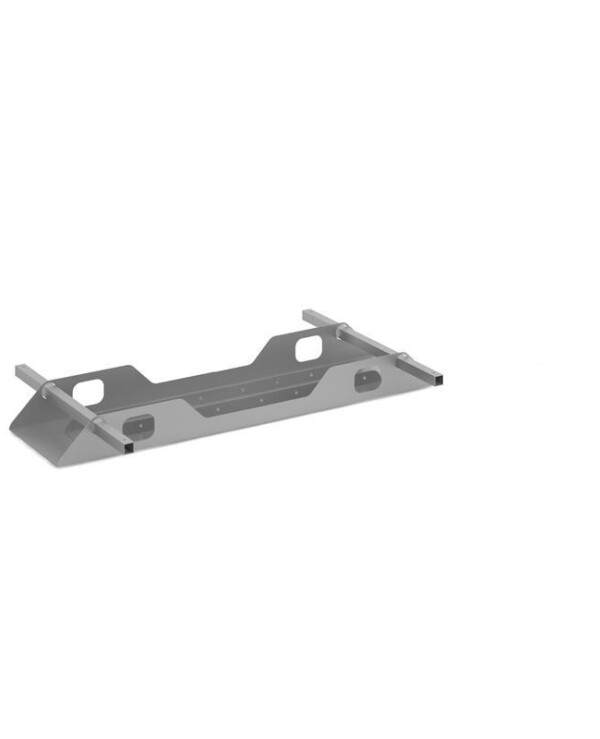 Connex double cable tray 1200mm - silver - Furniture