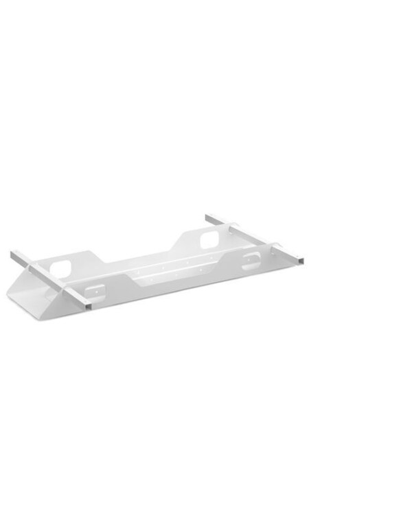Connex double cable tray 1200mm - white - Furniture