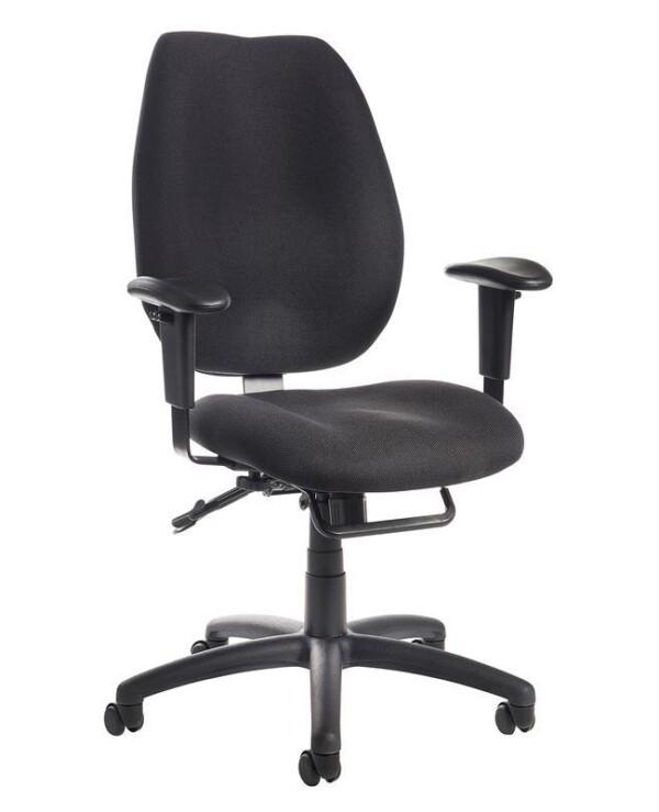 Cornwall multi functional operator chair - black - Furniture