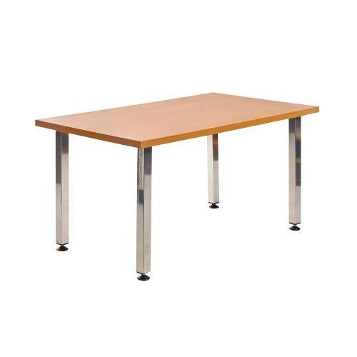Helsinki rectangular wooden reception table - Furniture